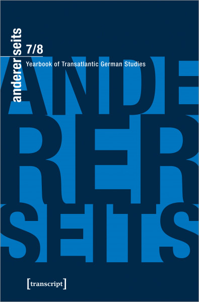 andererseits – Yearbook of Transatlantic German Studies