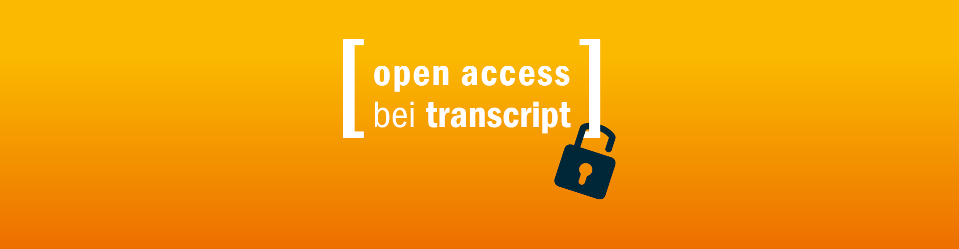 Open Access bei transcript