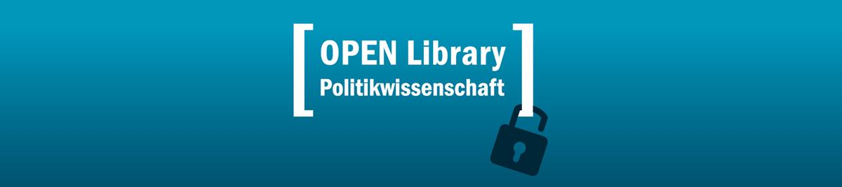Banner Open Library Politikwissenschaften bei transcript